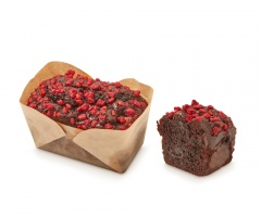 Delicake de Cacao con Frutos del Bosque