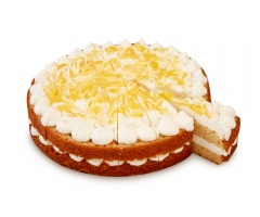 Cake de yogur al Limón