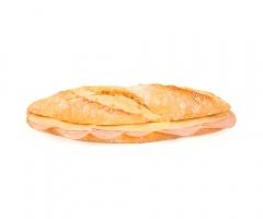 Bocadillo de jamón y queso