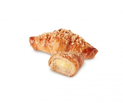 Mini Croissant Crema listo