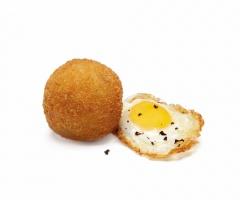 Croqueta huevo frito