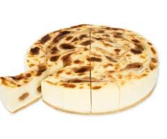 Cheesecake dulce de leche precortada