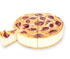 Cheesecake frambuesa precortada