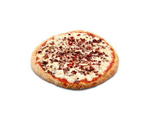 Pizza Clásica Pastrami y Tomate Seco