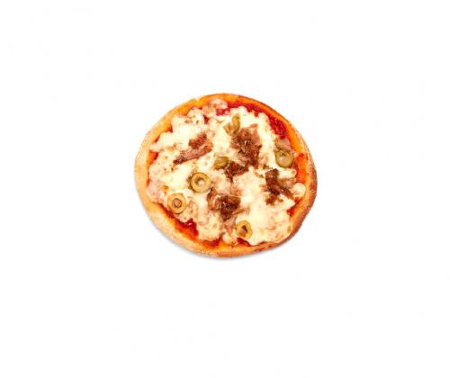 Mini Pizza Atún y Aceitunas