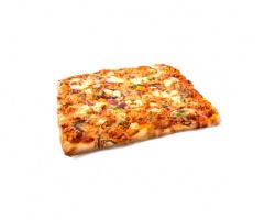 Pizza Pollo con Verduras