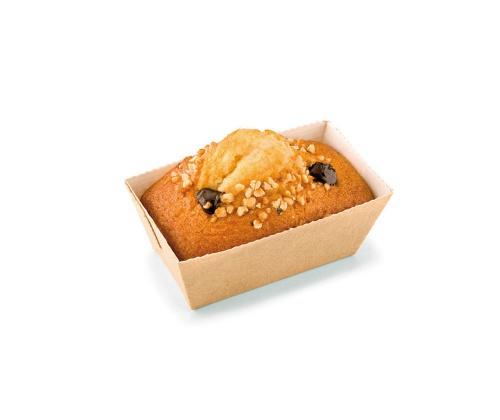 Mini Plumcake Crema de Cacao y Avellanas