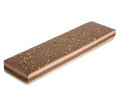 Banda de chocolate y almendras