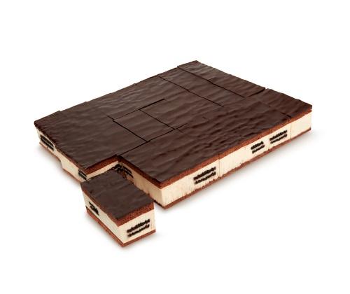 Plancha de Galletas al Cacao Precortada
