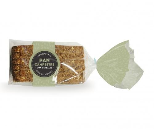 Pan Campestre Cereales Precortado (pack)