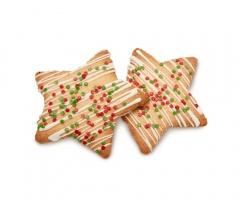 Cookie Estrella Navidad