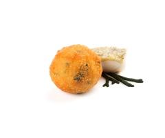 Croqueta Merluza y Alga Códium