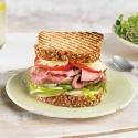 Sandwich de Roast Beef con Pimientos