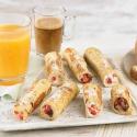 Bread Rolls de Fresa, Queso Crema y Chocolate