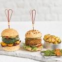 Mini Burgers de espinacas y requesón